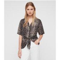 AllSaints Sirena Feline Shirt