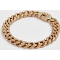 AllSaints Women's Curb Gold-Tone Chain Bracelet, Gold