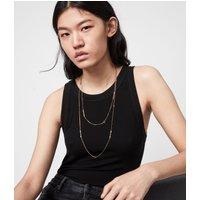 AllSaints Annika Gold-Tone Necklace