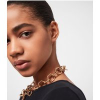 AllSaints Hexlink Gold-Tone Necklace