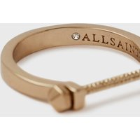 AllSaints Astral Gold-Tone Ring