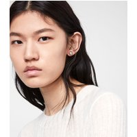 AllSaints Kailey Gold-Tone Stud Earrings