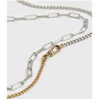 AllSaints Dakotas Mixed Chain Necklace