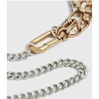 AllSaints Jailing Gold-Tone Necklace
