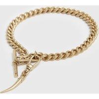 AllSaints Gila Gold-Tone Bracelet