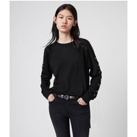 AllSaints Cross Merino Wool Jumper