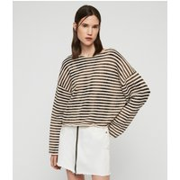 AllSaints Bleach Out Breton Jumper