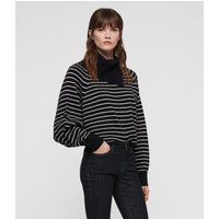 AllSaints Maddie Cropped Roll Neck Jumper
