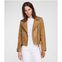 AllSaints Sarana Leather Biker Jacket