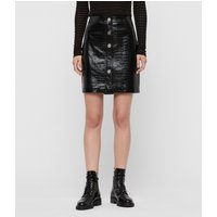 AllSaints Bela Leather Skirt