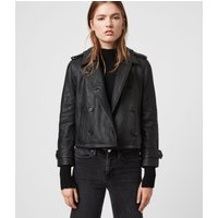 AllSaints Trae Leather Jacket