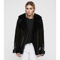 AllSaints Garrix Shearling Jacket