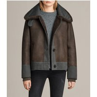 AllSaints Calder Shearling Jacket