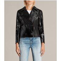 AllSaints Deebee Payton Leather Blazer