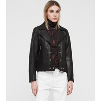 AllSaints Zola Leather Biker Jacket