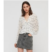 AllSaints Amalie Hearts Top