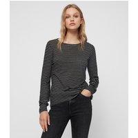 AllSaints Esme Stripe T-Shirt