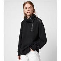 AllSaints Bella Zip Sweatshirt