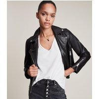 AllSaints Women's Cotton Regular Fit Emelyn Tonic T-Shirt, White, Size: XS