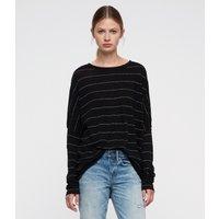 AllSaints Wave Stripe T-Shirt