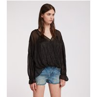 AllSaints Hattie Stripe Top