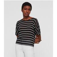 AllSaints Nimala Stripe Reversible T-Shirt