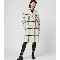 AllSaints Ryder Check Coat