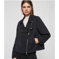 AllSaints Women's Macey Jacket, Black, Size: S