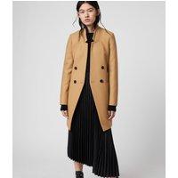 AllSaints Adrea Cashmere Blend Coat
