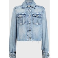 AllSaints Maisy Denim Shirt Jacket