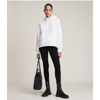 AllSaints Women's Cotton Essential Bri High-Rise Leggings, Black, Size: M