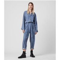 AllSaints Mila Denim Jumpsuit
