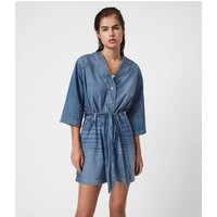 AllSaints Abbey Denim Playsuit