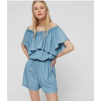 AllSaints Sacha Tencel Playsuit