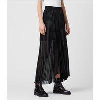 AllSaints Cora Pleat Skirt