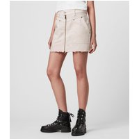 AllSaints Elma Dye Denim Skirt