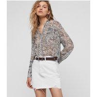 AllSaints Betty Denim Skirt