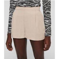 AllSaints Women's Regular Fit Alva Low-Rise Shorts, Pink, Size: 14