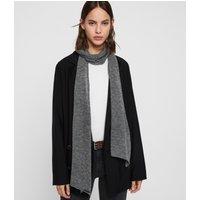 AllSaints Fine Gauge Wool Scarf