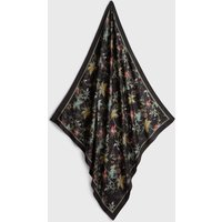 AllSaints Evolution Silk Square Scarf