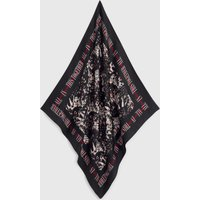 AllSaints Allinthis Large Square Silk Scarf