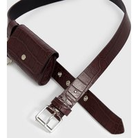 AllSaints Agnes Leather Belt