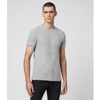 AllSaints Men's Cotton Regular Fit Tonic Crew T-Shirt, Grey, Size: XXL