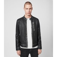 AllSaints Cable Leather Jacket