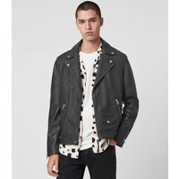 AllSaints Milo Leather Biker Jacket