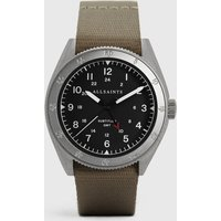 AllSaints Men's Subtitled GMT II Stainless Steel Watch, Grey
