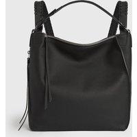 AllSaints Women's Leather Kita Small Backpack, Black