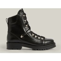 AllSaints Women's Leather Franka Boot, Black, Size: UK 7/US 9/EU 40