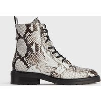 AllSaints Donita Snake Leather Boots