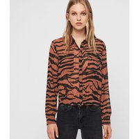 AllSaints Adeliza Zephyr Shirt